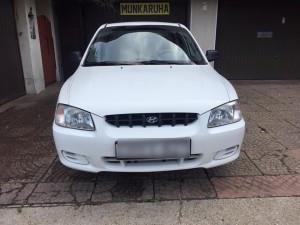 Hyundai Accent 2002 bérlés 5000 forinttól