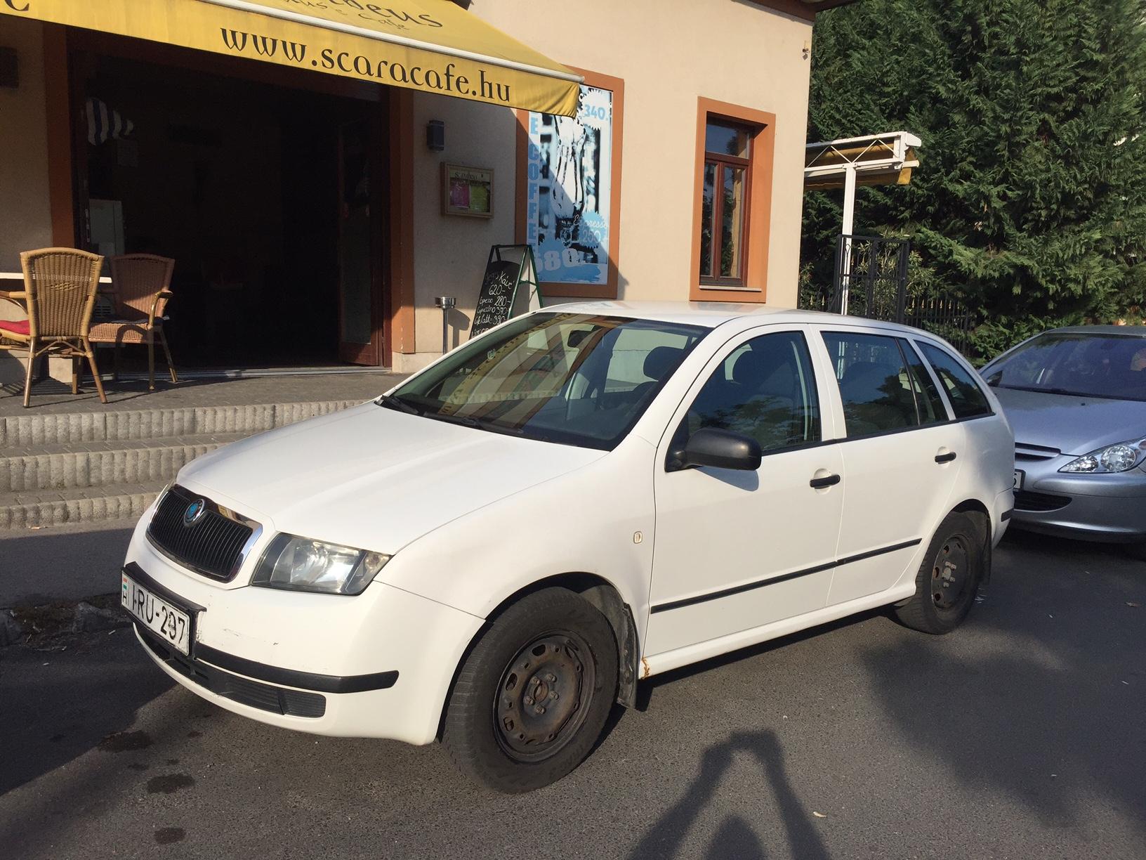Škoda Fábia autóbérlés ára már 4000 forinttól