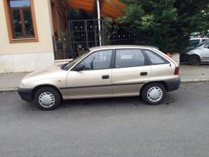 Opel Astra F autóbérlés ára már 4500-forinttól.