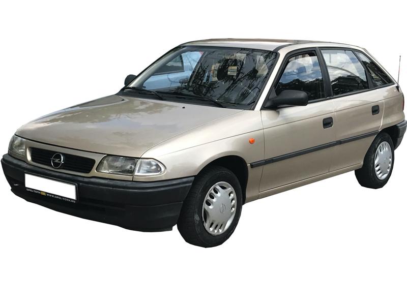 Opel Astra F autóbérlés